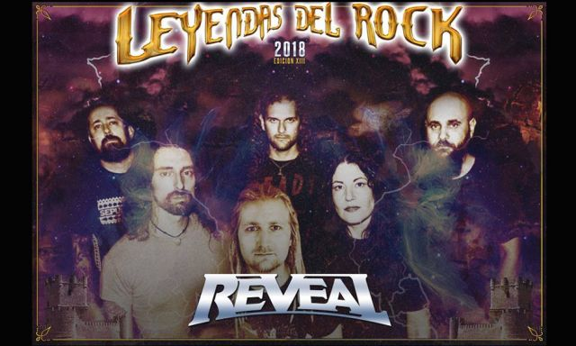 Reveal in Leyendas del Rock
